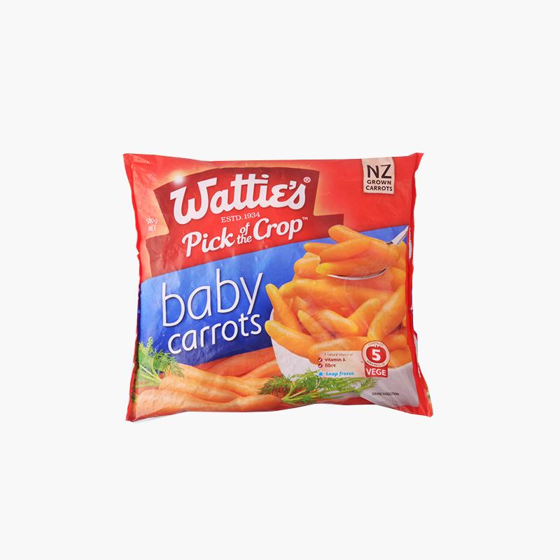 Wattie's, Baby Carrots 500g