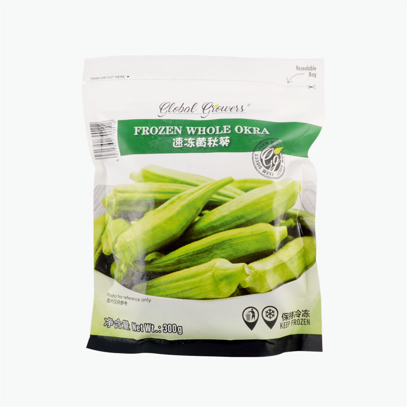 Global Growers Okra (Whole) 300g