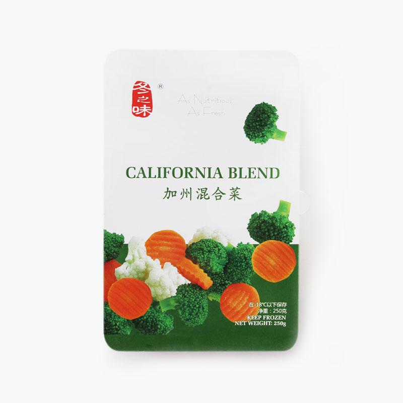 Dongzhiwei, California Blend Mixed Vegetables 250g