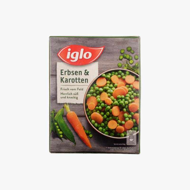 Iglo Peas and Carrots 540g