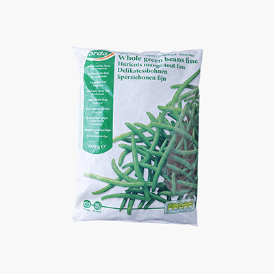 Ardo, French Green Beans (Whole, Fine) 1kg