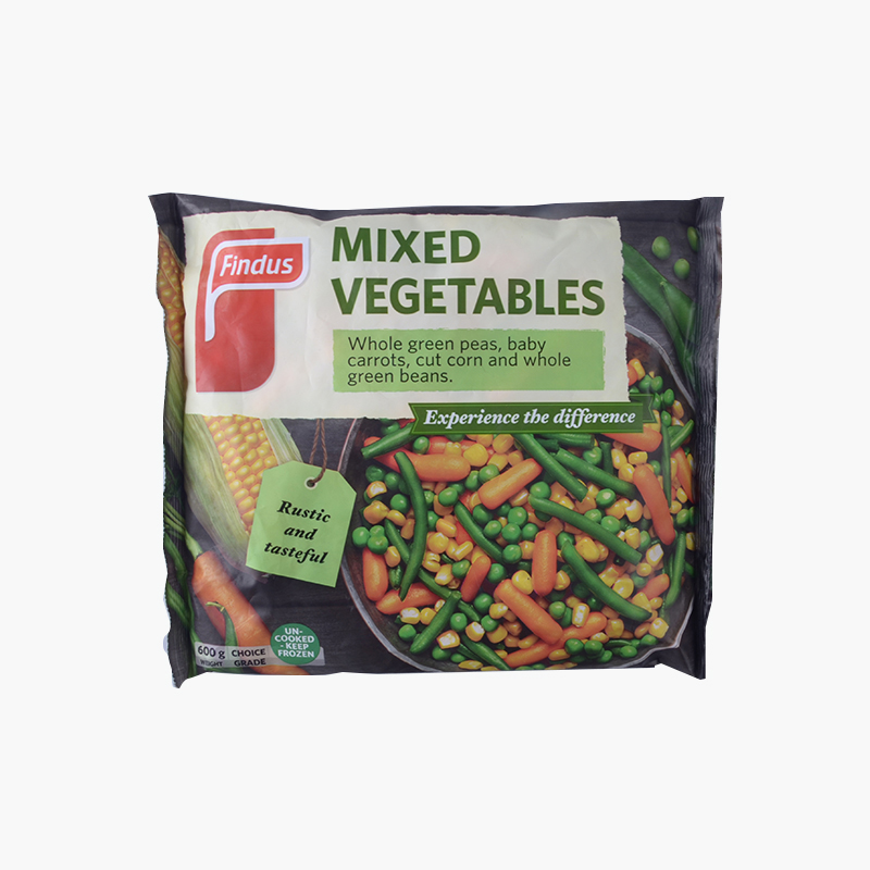 Findus, Mixed Vegetables 600g
