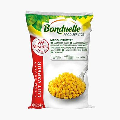 Bonduelle Frozen Super Sweet Corn Kernels  2.5kg