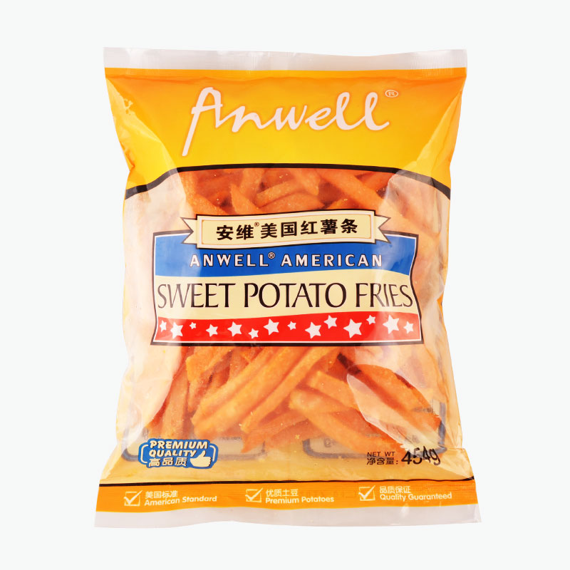 Anwell, American Sweet Potato Fries 454g