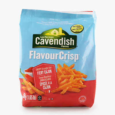 Cavendish Farms, 'FlavourCrisp' Straight Cut Fries (Fiery Cajun) 750g
