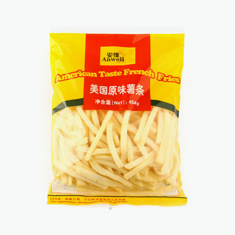 Anwell, American Taste French Fries 454g