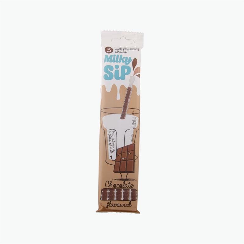 Milky Sip Chocolate Milk Flavouring Straws 5x6g