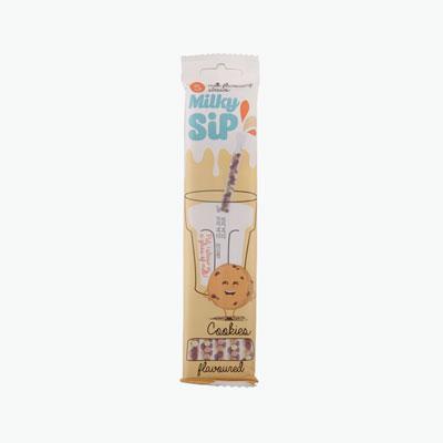 Milky Sip Cookie Milk Flavouring Straws 5x6g