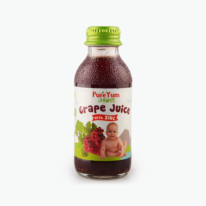 PureYum, Grape Juice (Zinc Fortified) 125ml