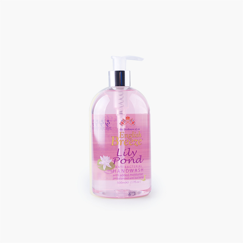 English Breeze, Anti-Bacterial Hand Soap (Lily Pond) 500ml