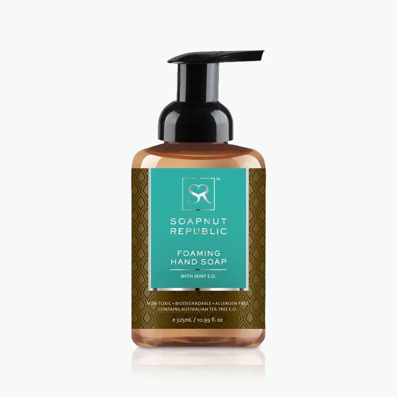 Soapnut Republic, Foaming Hand Soap (Mint) 500ml