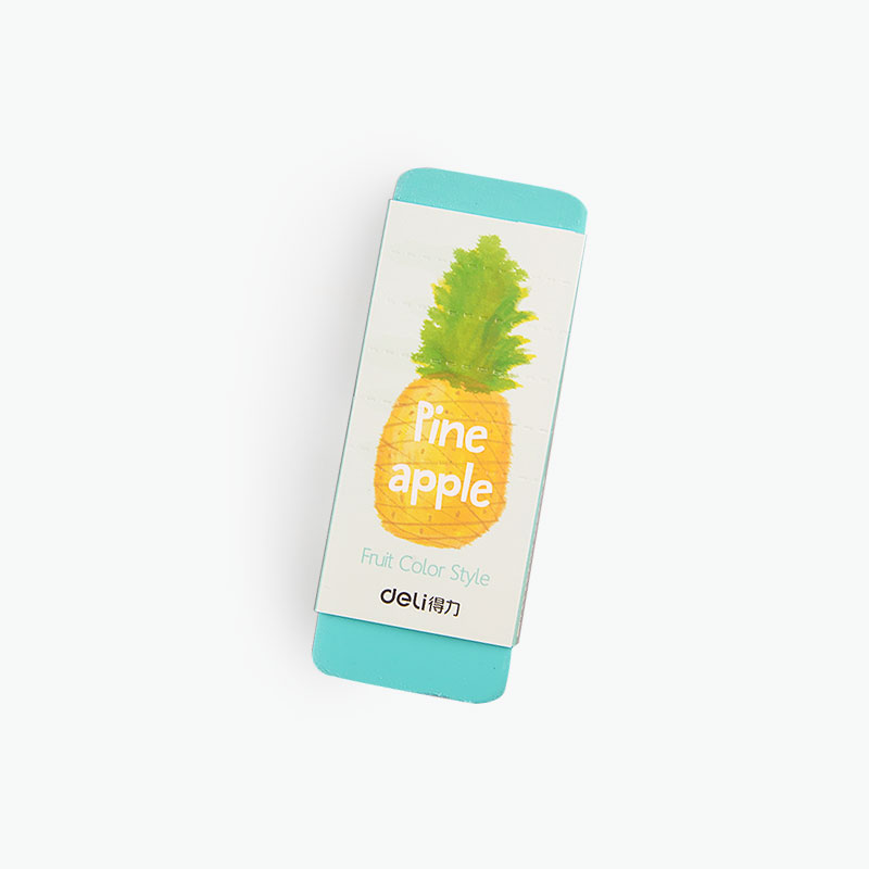 Deli, Scented Jumbo Eraser (Pineapple) x1