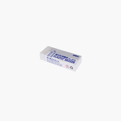 Deli, Plastic Eraser x1