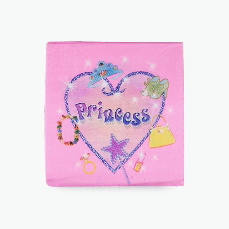 Princess Party Napkins x20