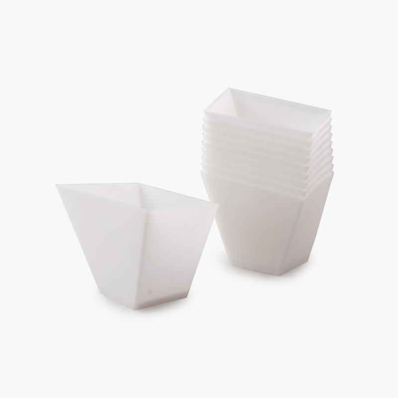 Disposable Pudding Dishes (White) x10