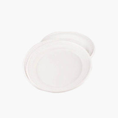 Yusei, Plastic Plates (for Hot or Cold Food) 22cm x8