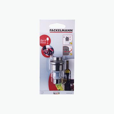Fackelmann, Wine Bottle Stopper with Vacuum Push Pump x1