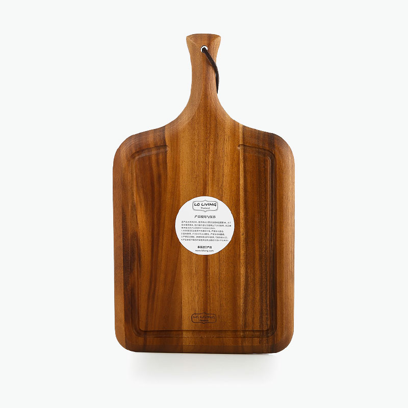 LC Living, Acacia Wood Handle-shape Cutting Board (L) x1