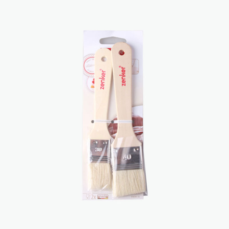 Fackelmann, 'Zenker' Pastry Brushes (2 Sizes) x2