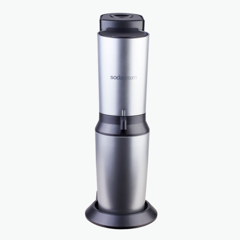 Sodastream, 'Crystal' Soda Water Maker (with Sodaland Food CO2 Cylinder) x1