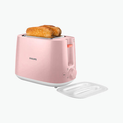 Philips Pink Toaster