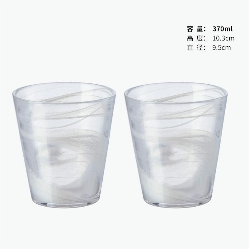Bormioli Rocco White Glass x2 370ml