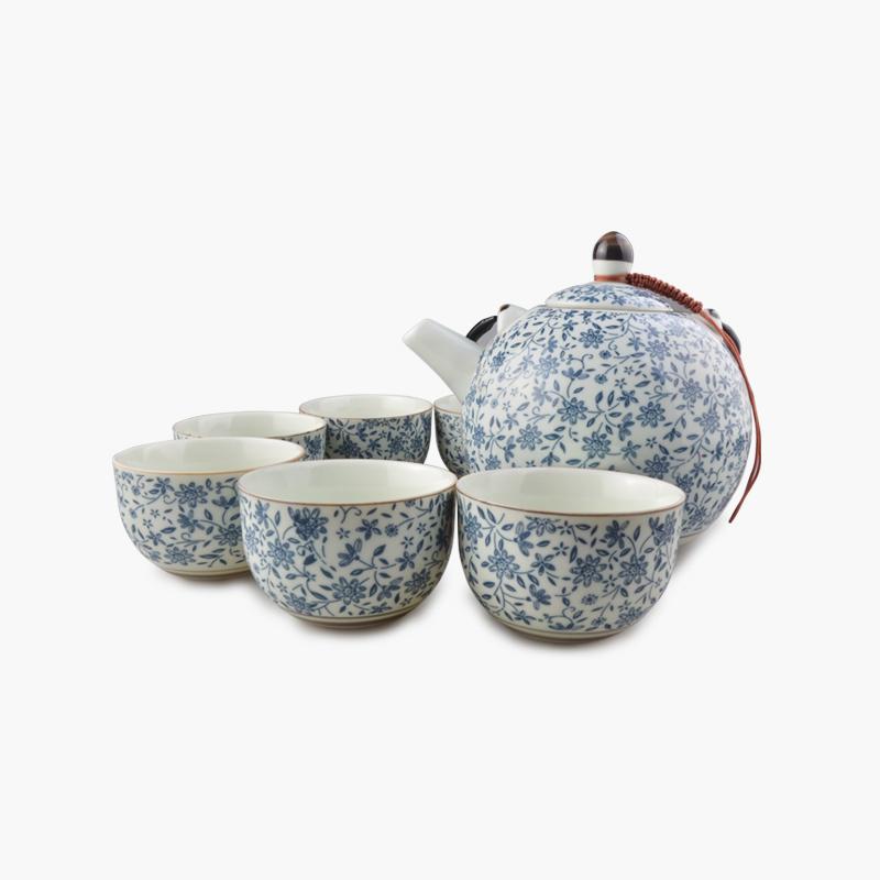 Traditional 7pc Tea Set