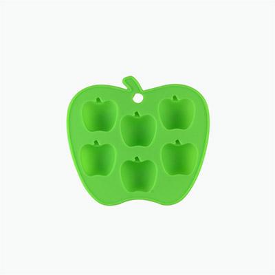 Fackelmann Silicone Apple Shape Ice Cube Tray x1