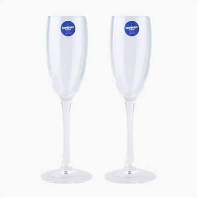 Luminarc, Champagne Flute Set 160ml x2
