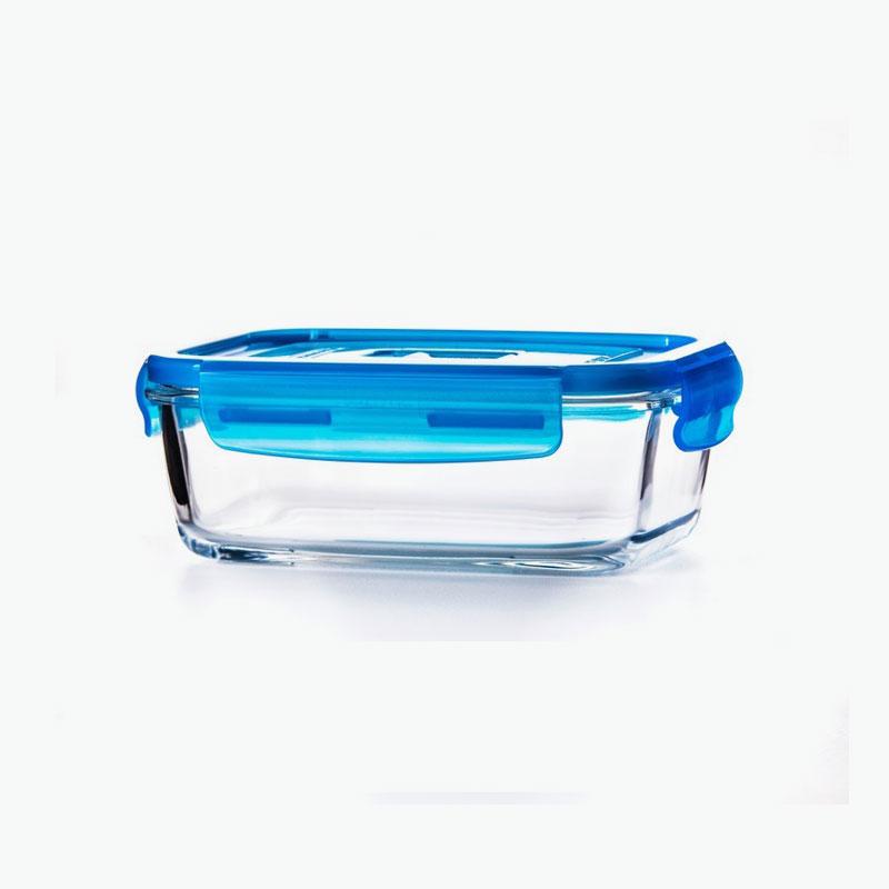 Luminarc, 'Purebox' Tempered Glass Storage Container (Rectangular) 820ml