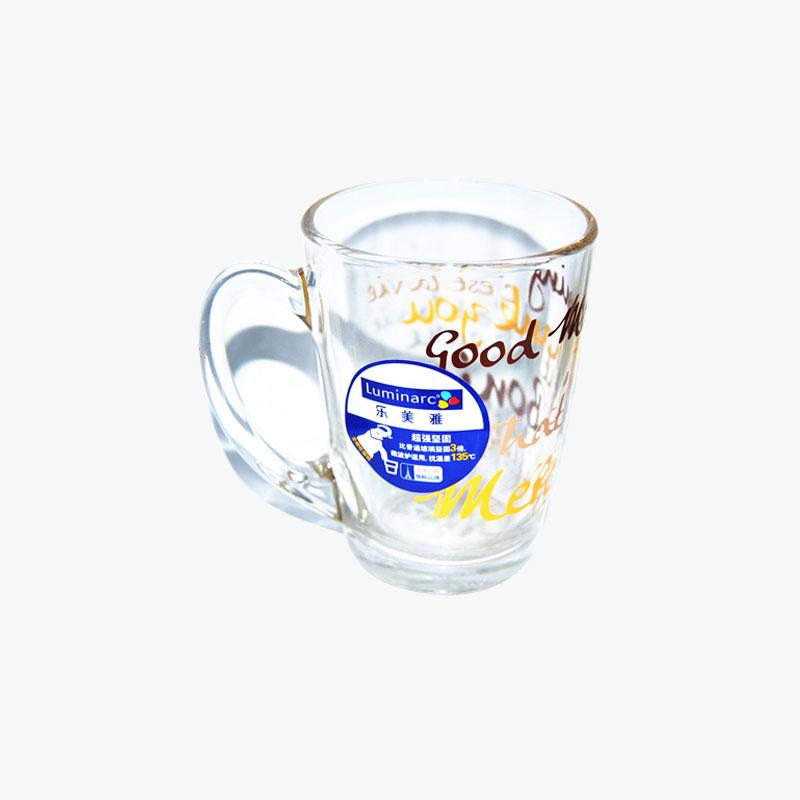 Luminarc, 'Good Morning' Tempered Glass Mug 320ml