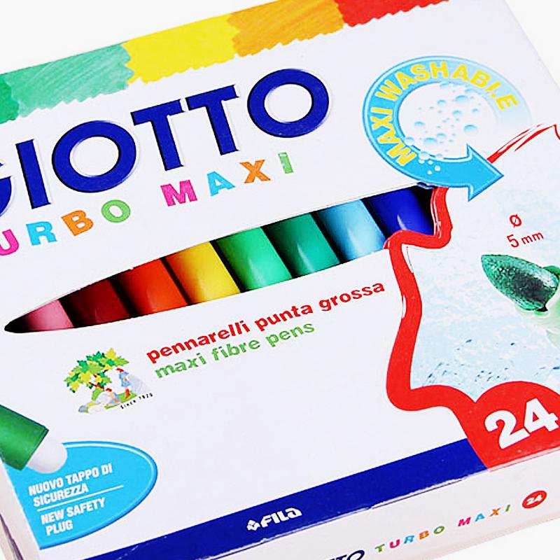 Giotto, 'Turbo Maxi' Washable Fibre Pen Markers x24