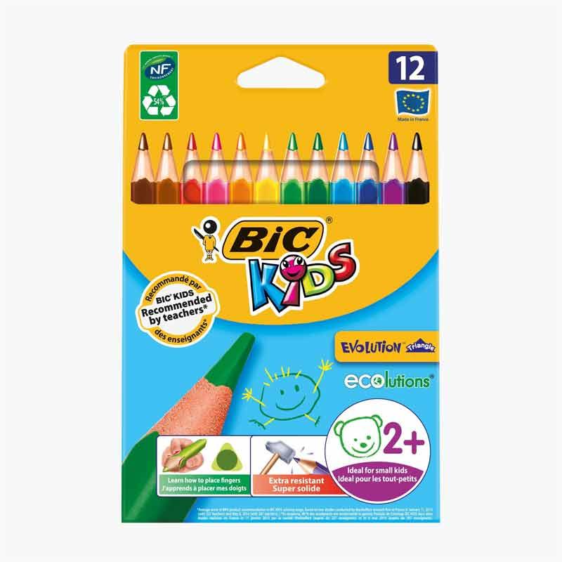 BIC 12 Color Pencils
