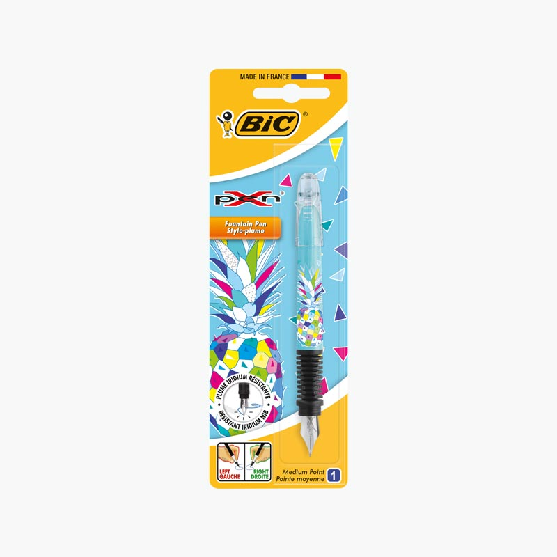 BIC Pineapple Designed Fountain Pen