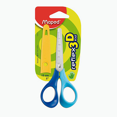 Maped, Reflex 3D Kid 13cm Right Handed Scissors  x1