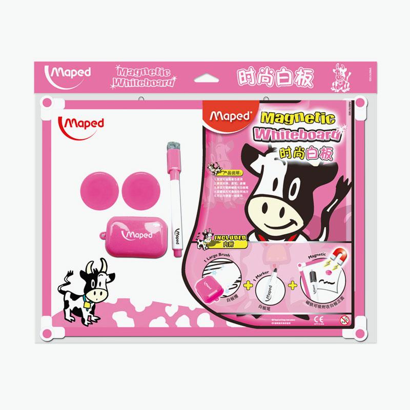Maped, Whiteboard Kit (Pink) 390x298mm x1