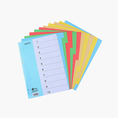 Side-Tab Index Dividers (A4) 10pcs