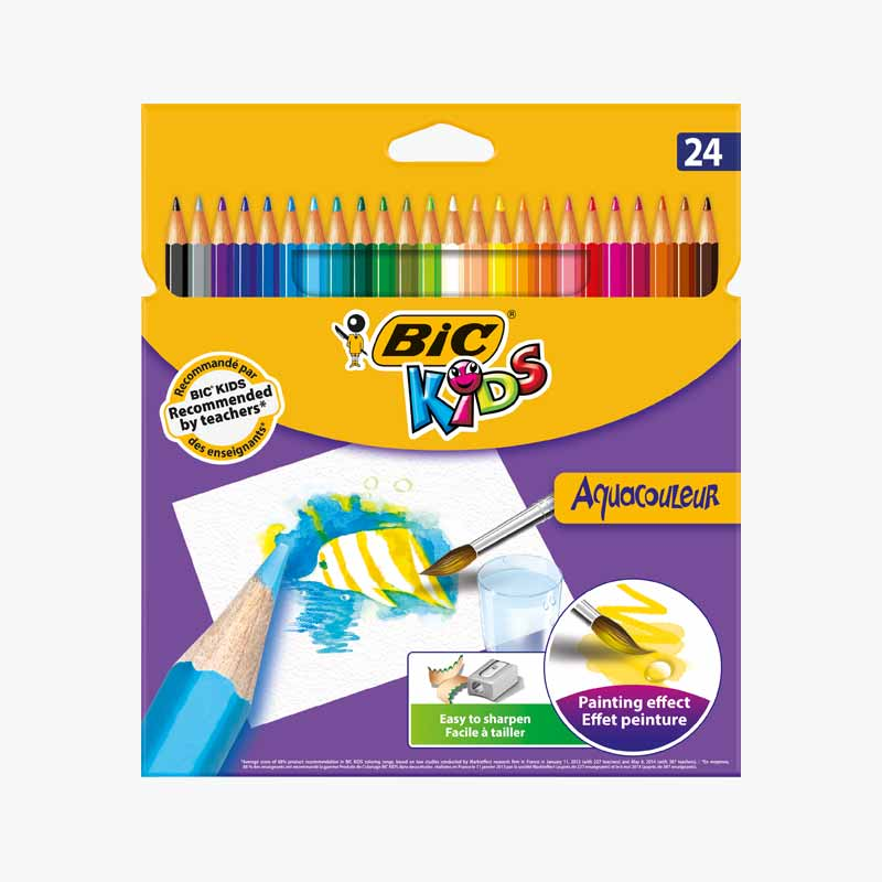 BIC 24 Color Pencils