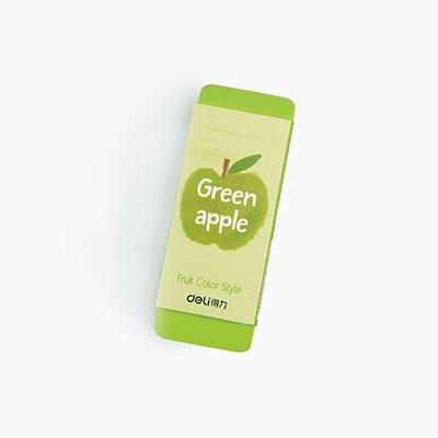Deli, Scented Jumbo Eraser (Green Apple) x1