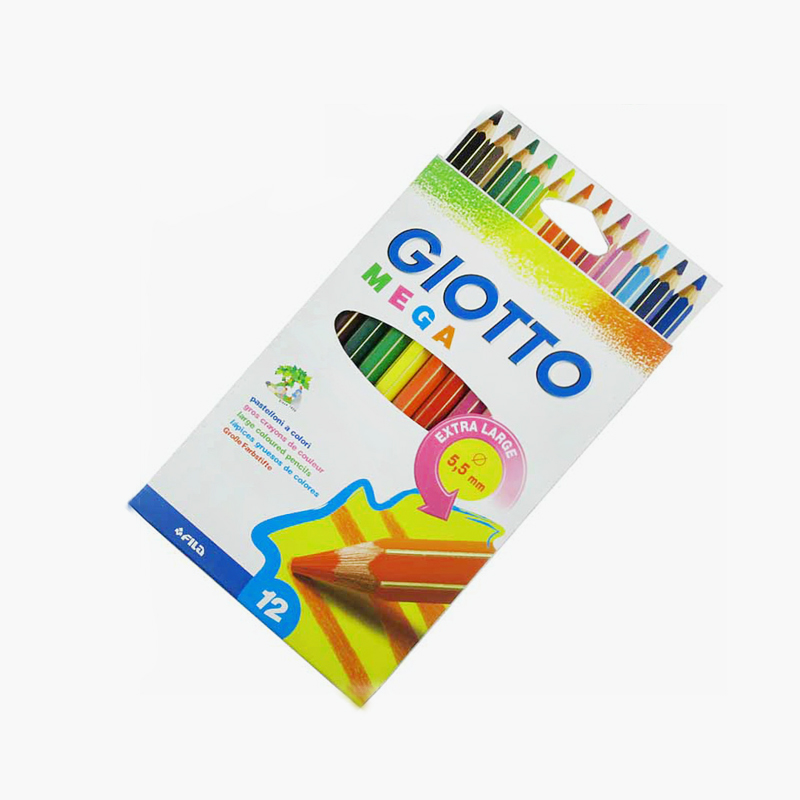Giotto, 'Mega' Extra Large Colored Pencils x12