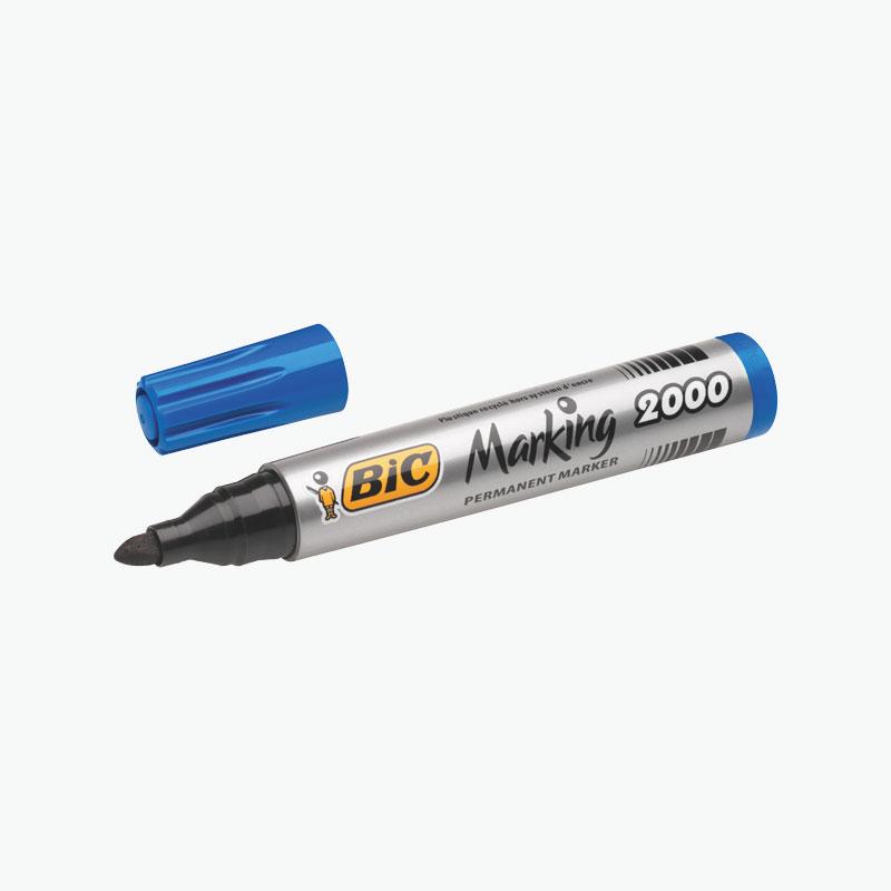 BIC Permanent Blue Marker