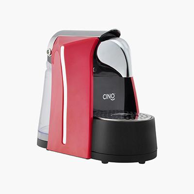 Capsule Coffee Machine Red Nespresso Compatible