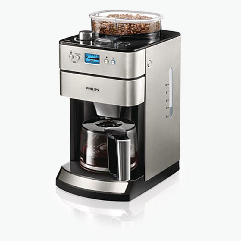 philips drip filter coffee machine w glass jug hd7751. Black Bedroom Furniture Sets. Home Design Ideas