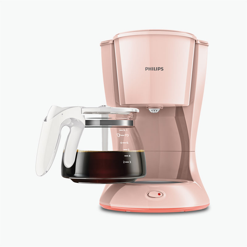 Philips Pink Coffee Machine