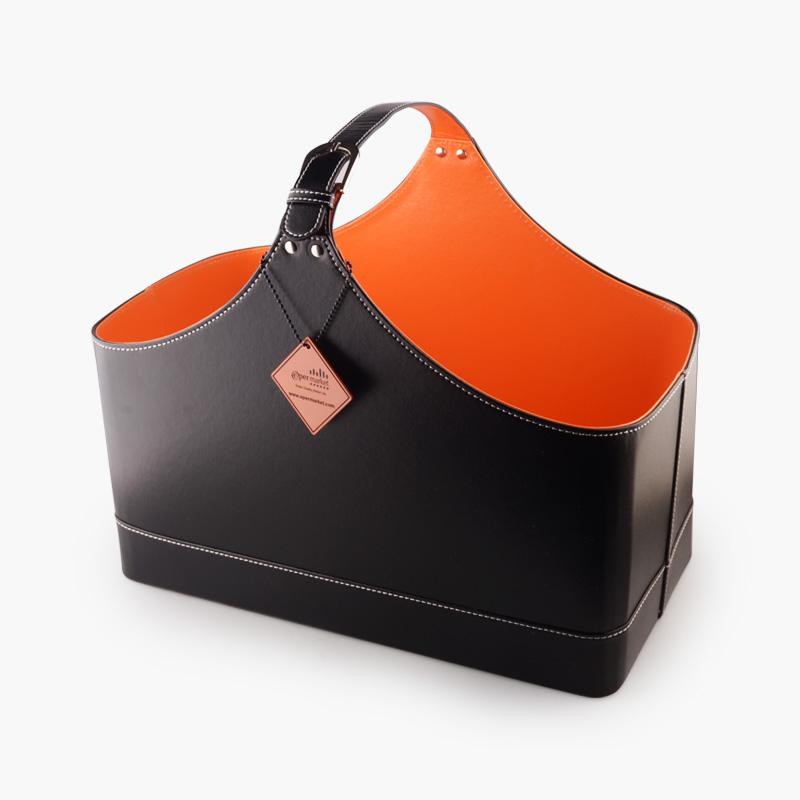 Leather Eper Gift Basket