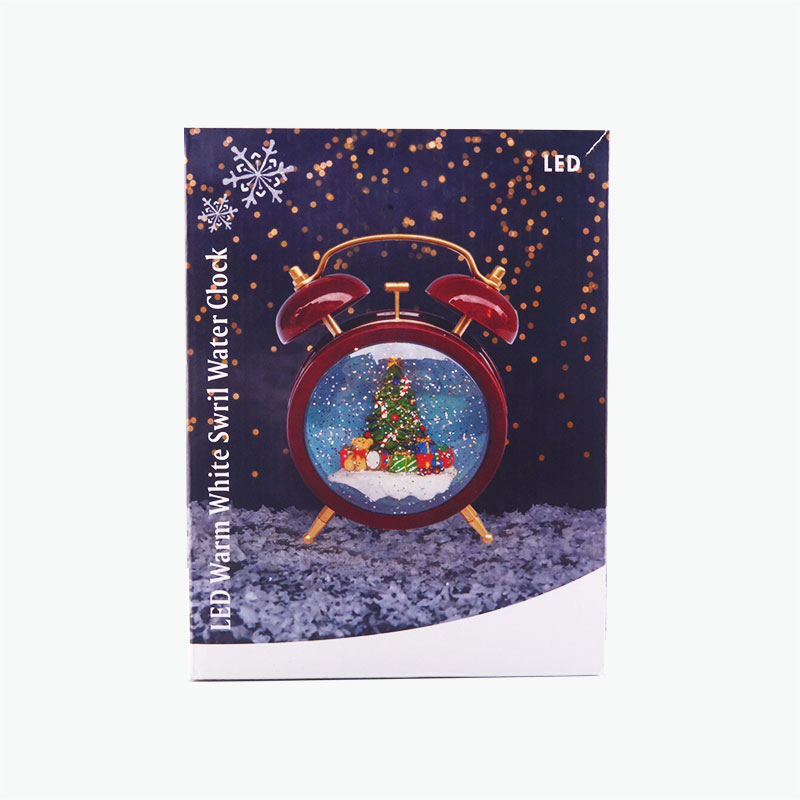Christmas Decorative Clock Ornament x1