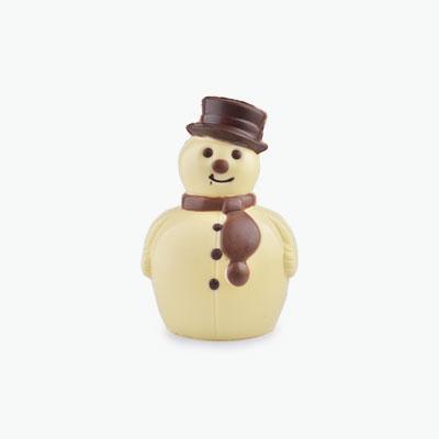 Triple Chocolate Snow Man 15cm
