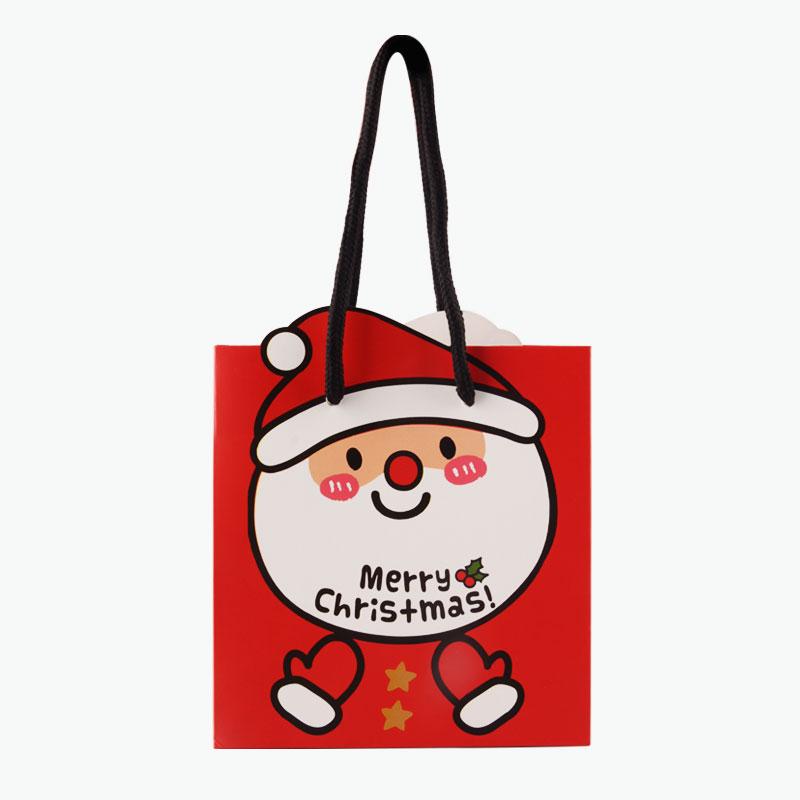 Christmas Gift Bag (Santa, L) 30x12x25cm