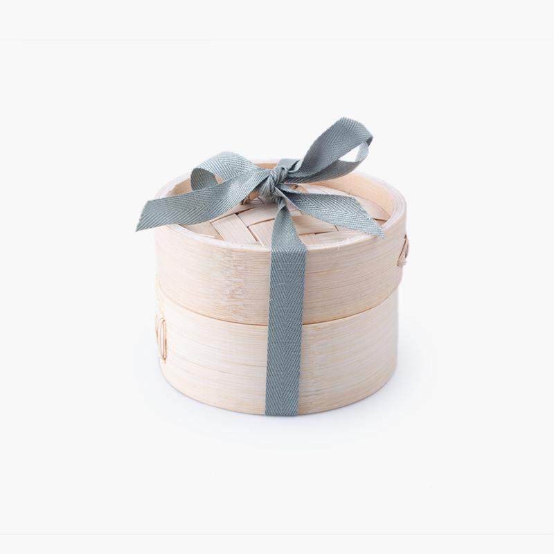 Pinyin Press, 'Jiaozi' Ceramic Paperweight (White)