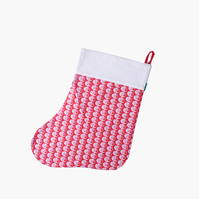 Pinyin Press, 'Baozi' Christmas Stocking (Red)